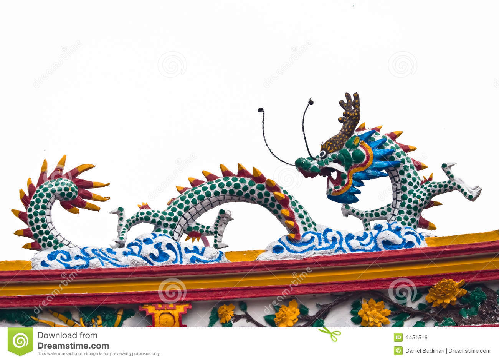 Dragon chinois sur le premier toit de temple image libre de droits image 4451516 - Photo dragon chinois ...