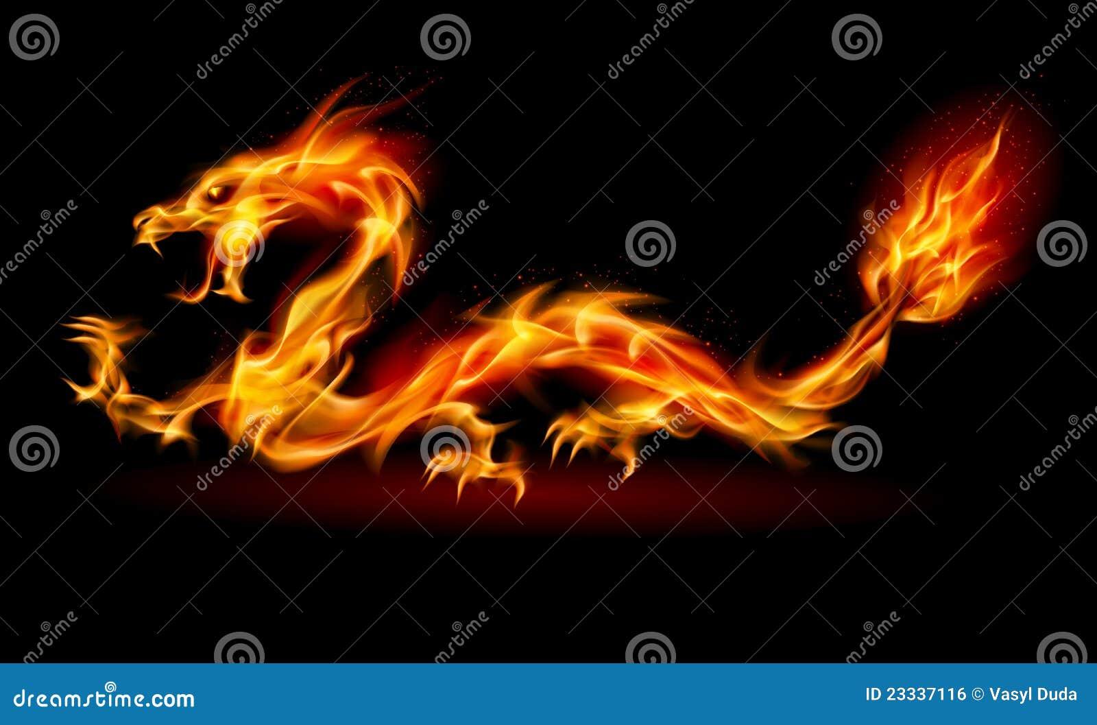 Dragon d incendie