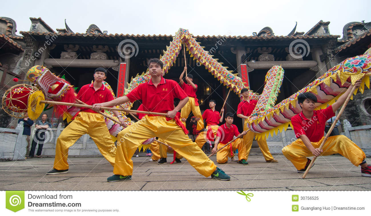 dragon dance editorial image image of totem ancient 30756525