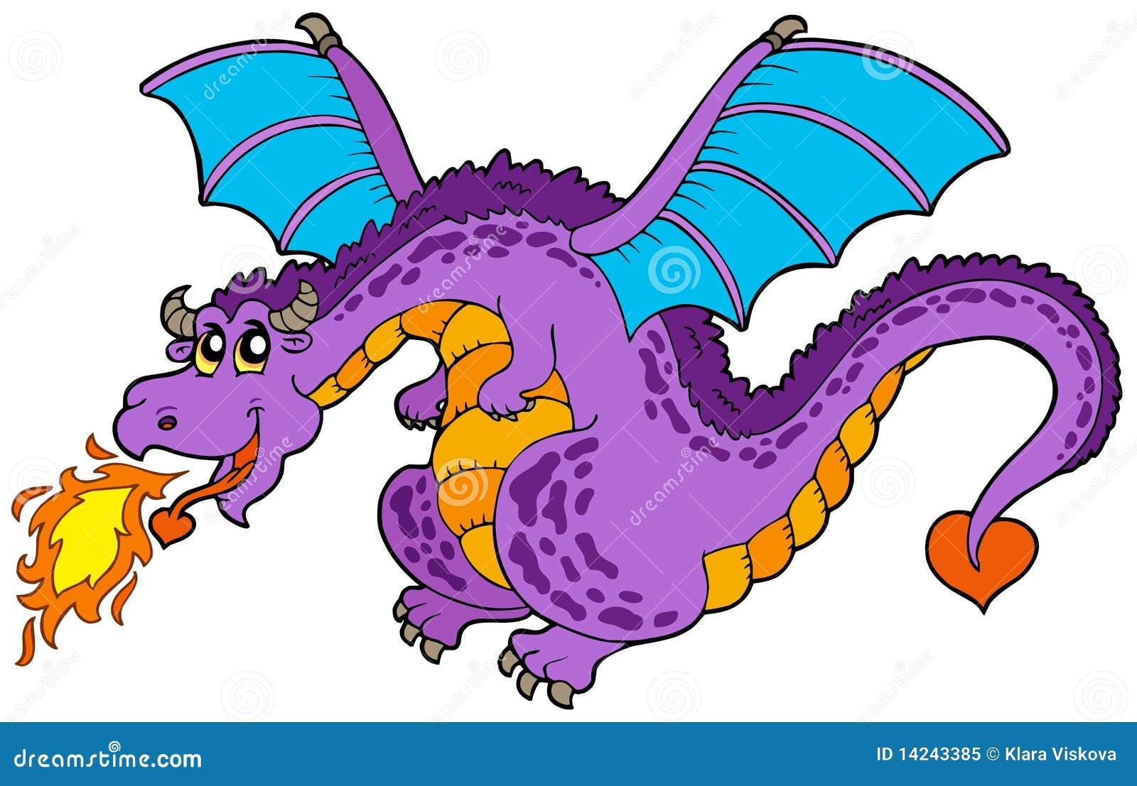 Dragon de vol énorme