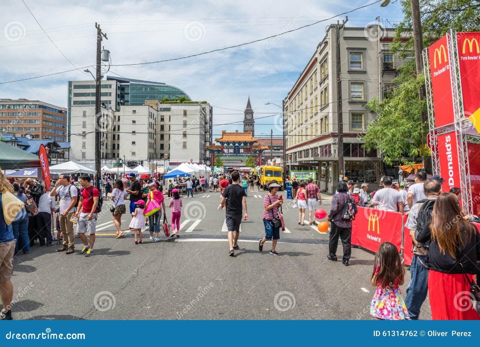 Dragon Fest Chinatown Seattle Washington
