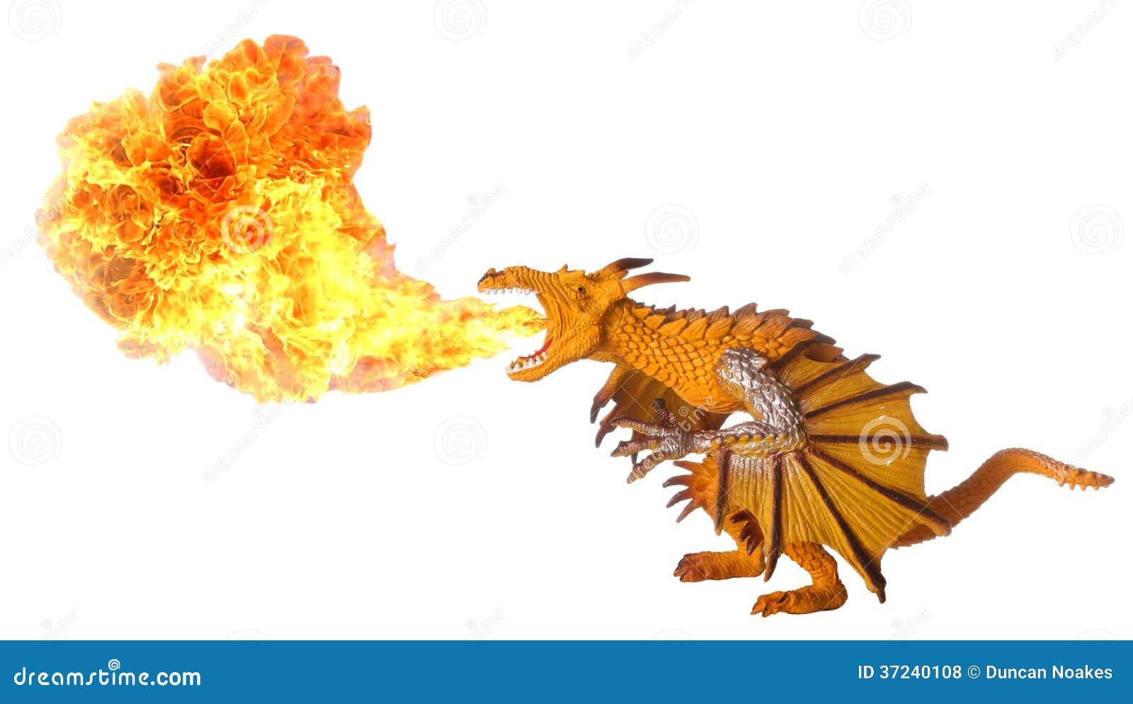 Dragon Fire Breath Royalty Free Stock Photos Image 37240108
