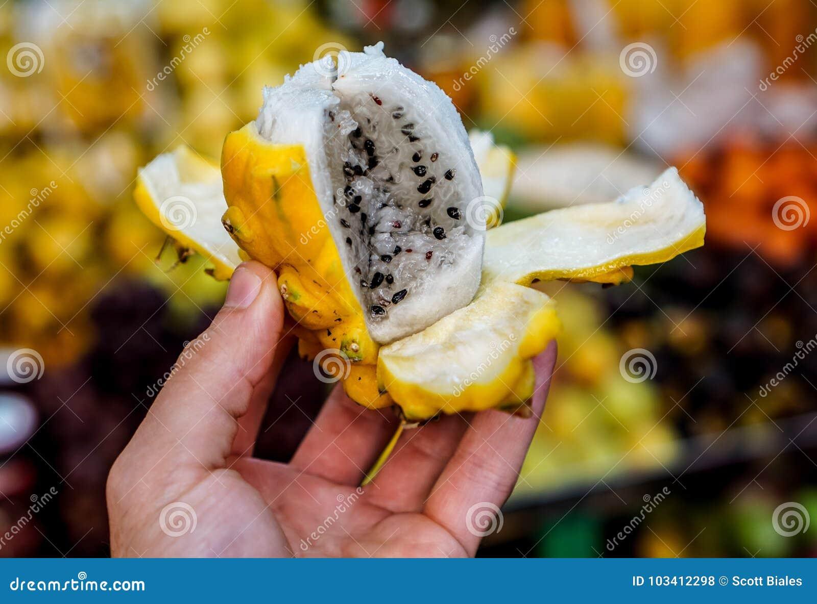 Dragon Fruit em Colômbia