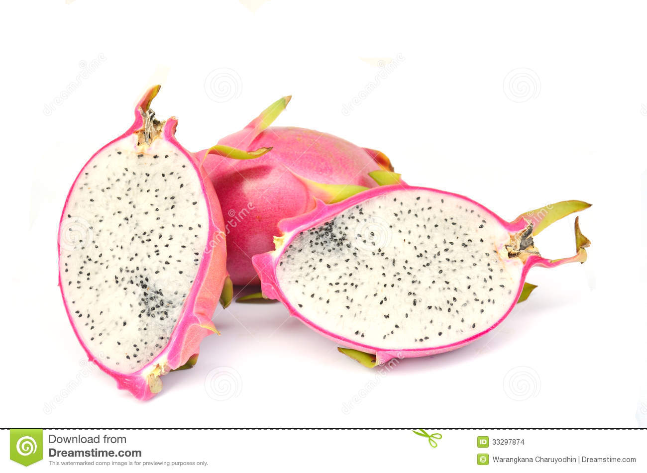 Dragon Fruit Ready To Eat Stock Images Image: 33297874