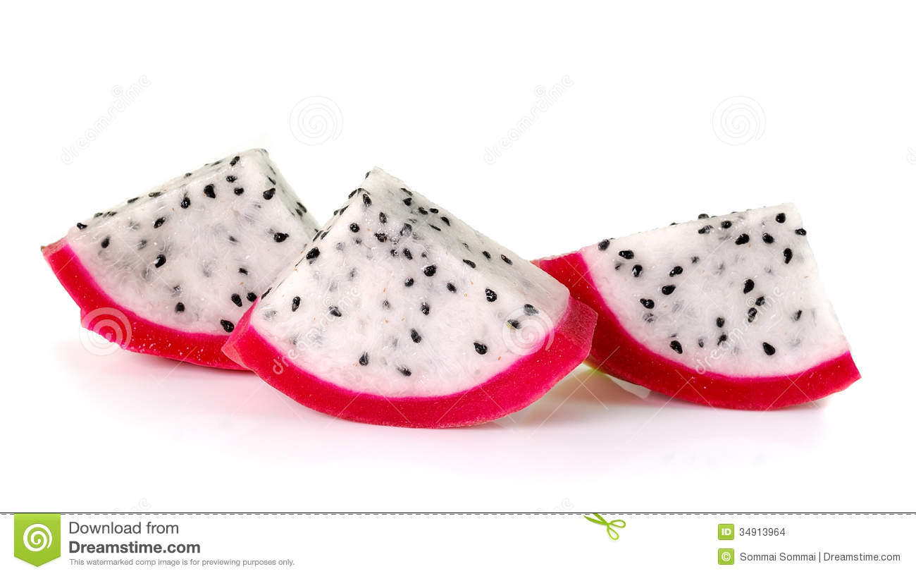 how to know if dragon fruit is pink or white