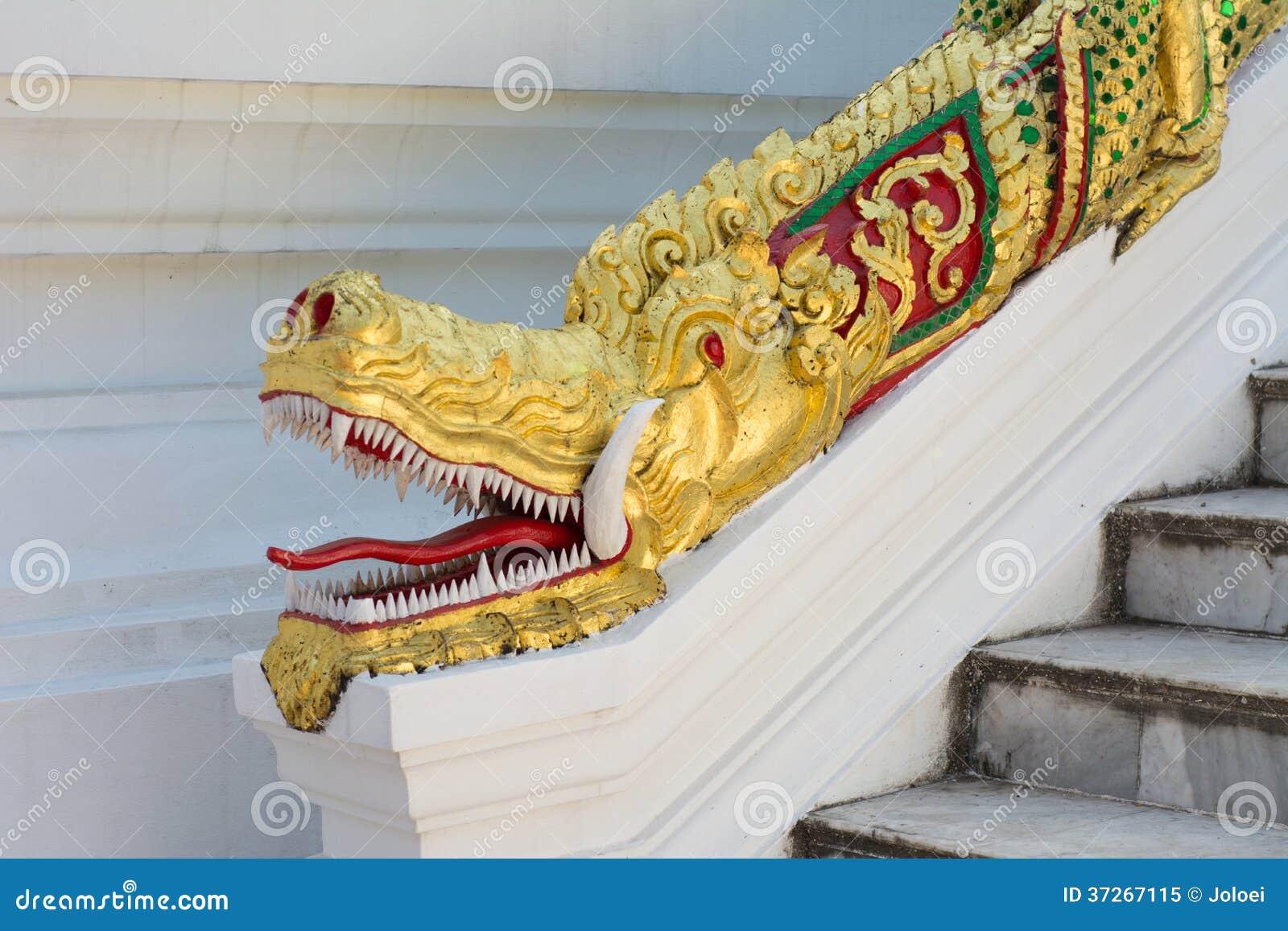 Dragon Head Statue