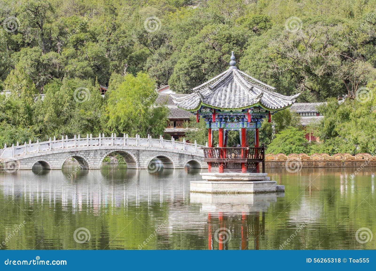 Dragon Pool preto, Lijiang China