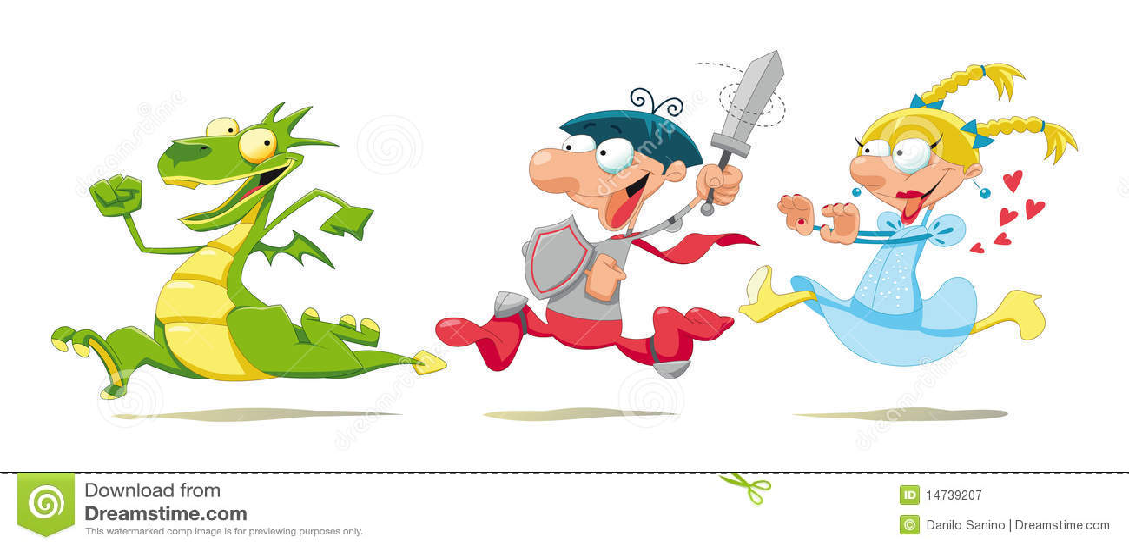 Dragon prince et princesse illustration de vecteur illustration du m di val imagination - Prince et princesse dessin ...