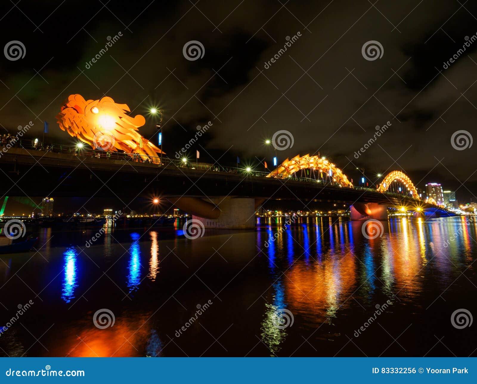 Dragon River Bridge no Da Nang