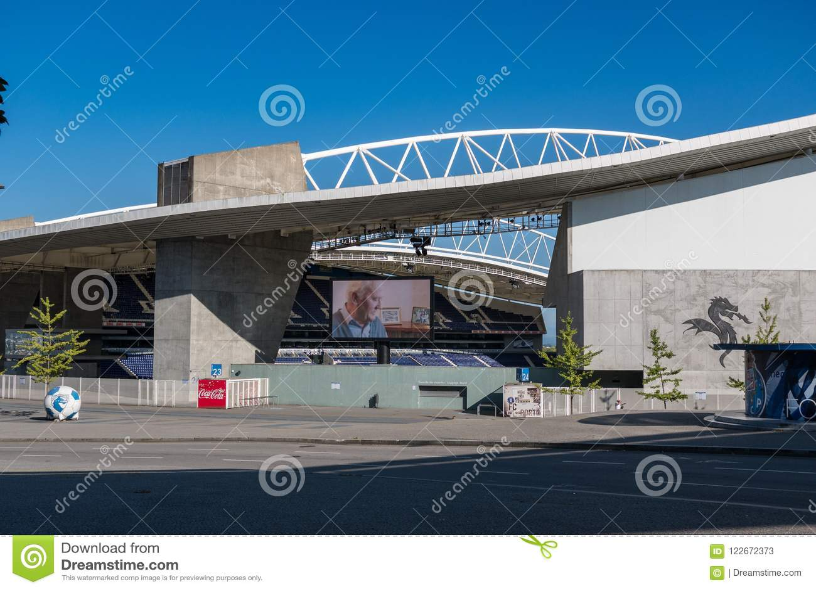 Dragon Stadium/Estadio faz Dragao, o Porto FC moído em Porto, Portugal