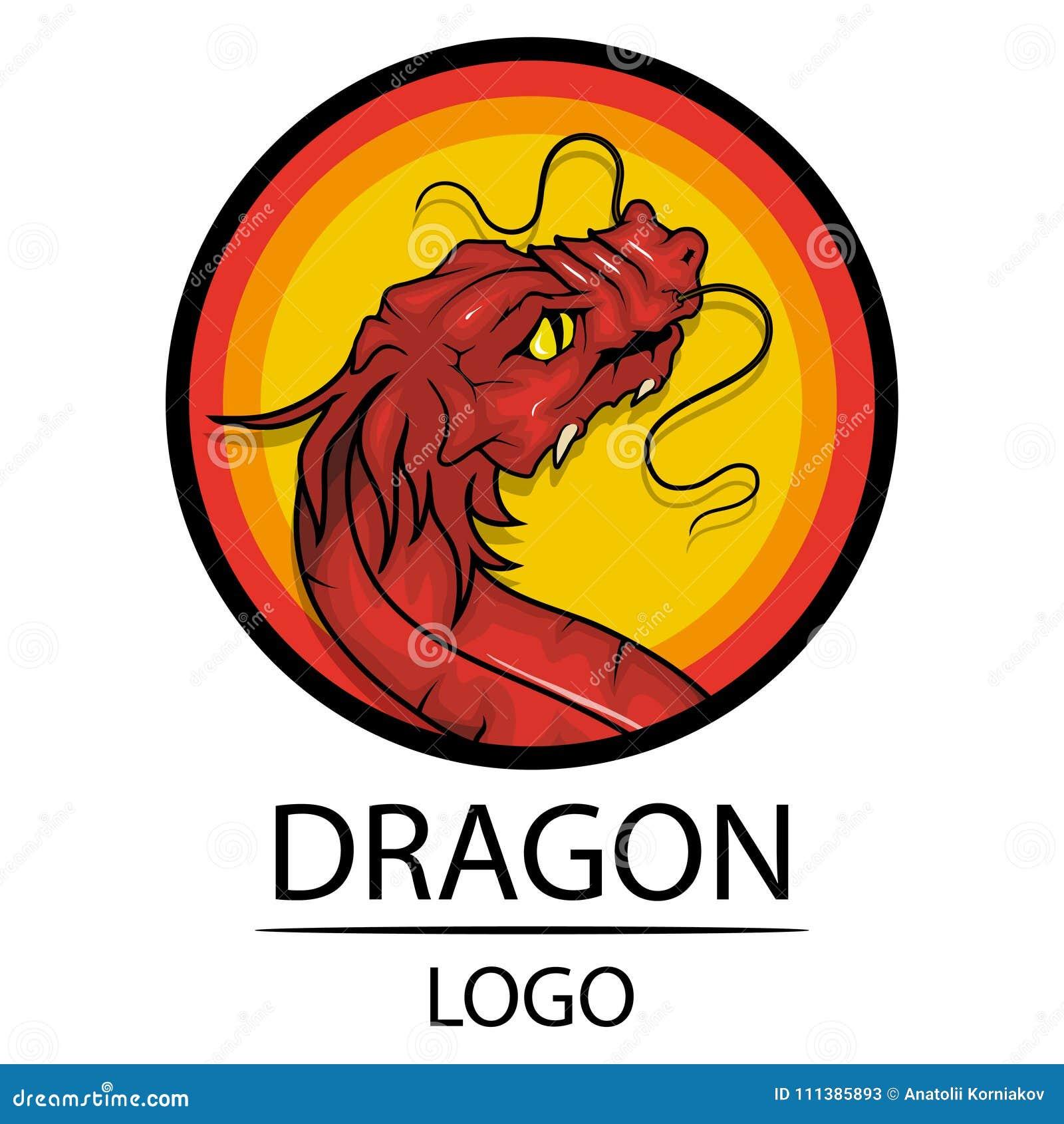 Dragon Symbol Of China Stock Vector Illustration Of China 111385893
