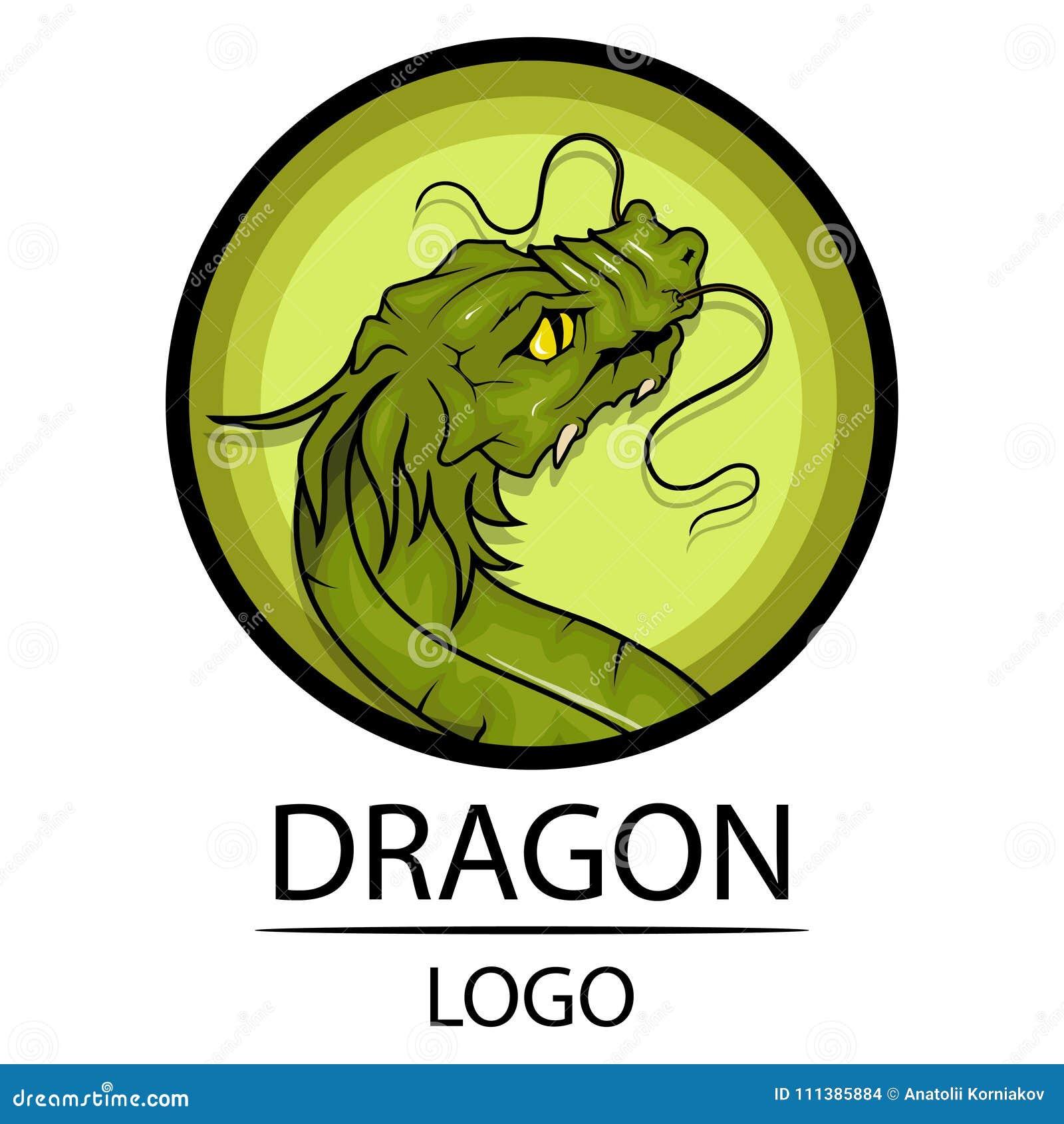 Dragon Symbol Of China Stock Vector Illustration Of Chinese