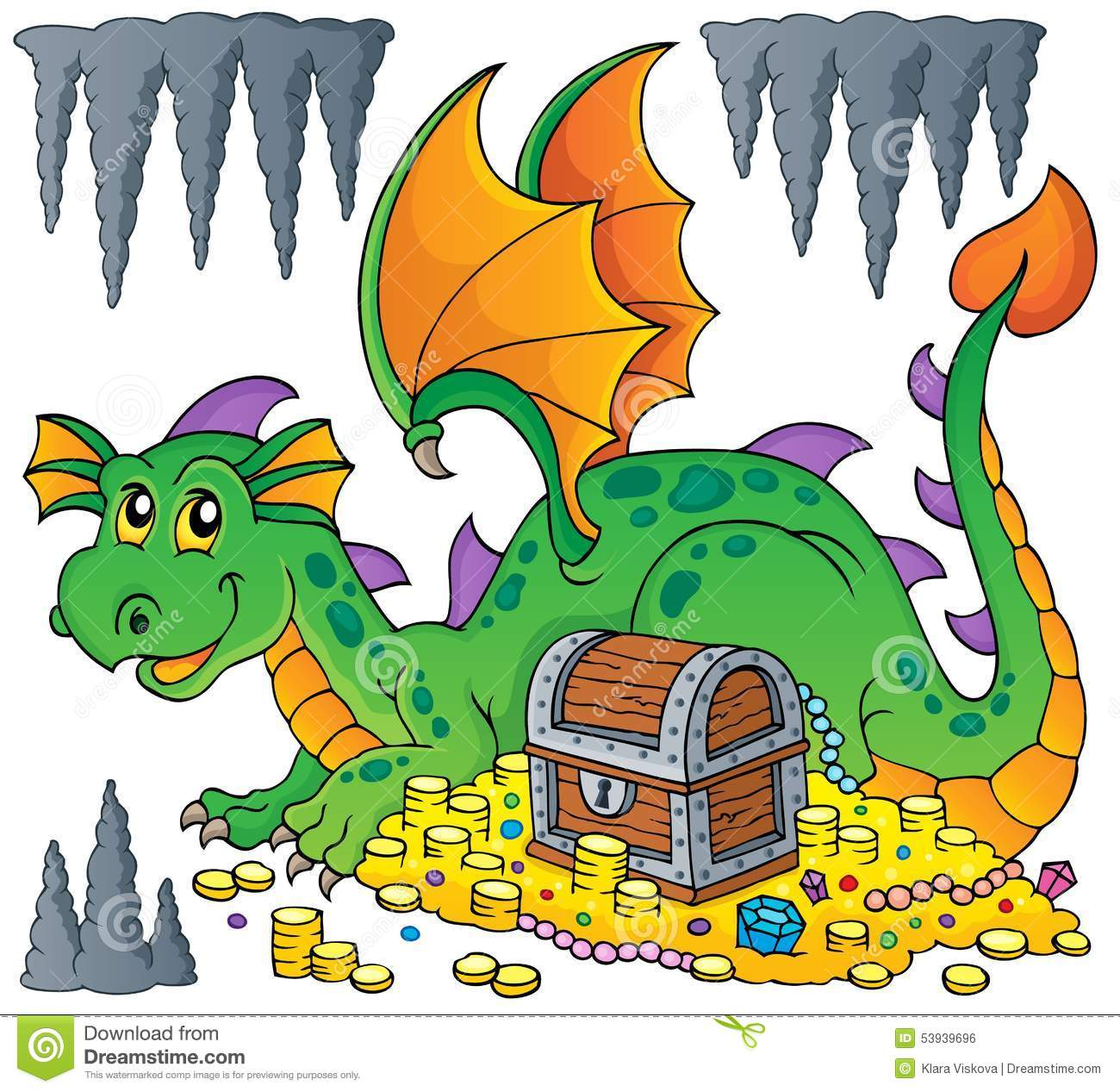 Image result for images of treasure guarded by dragon