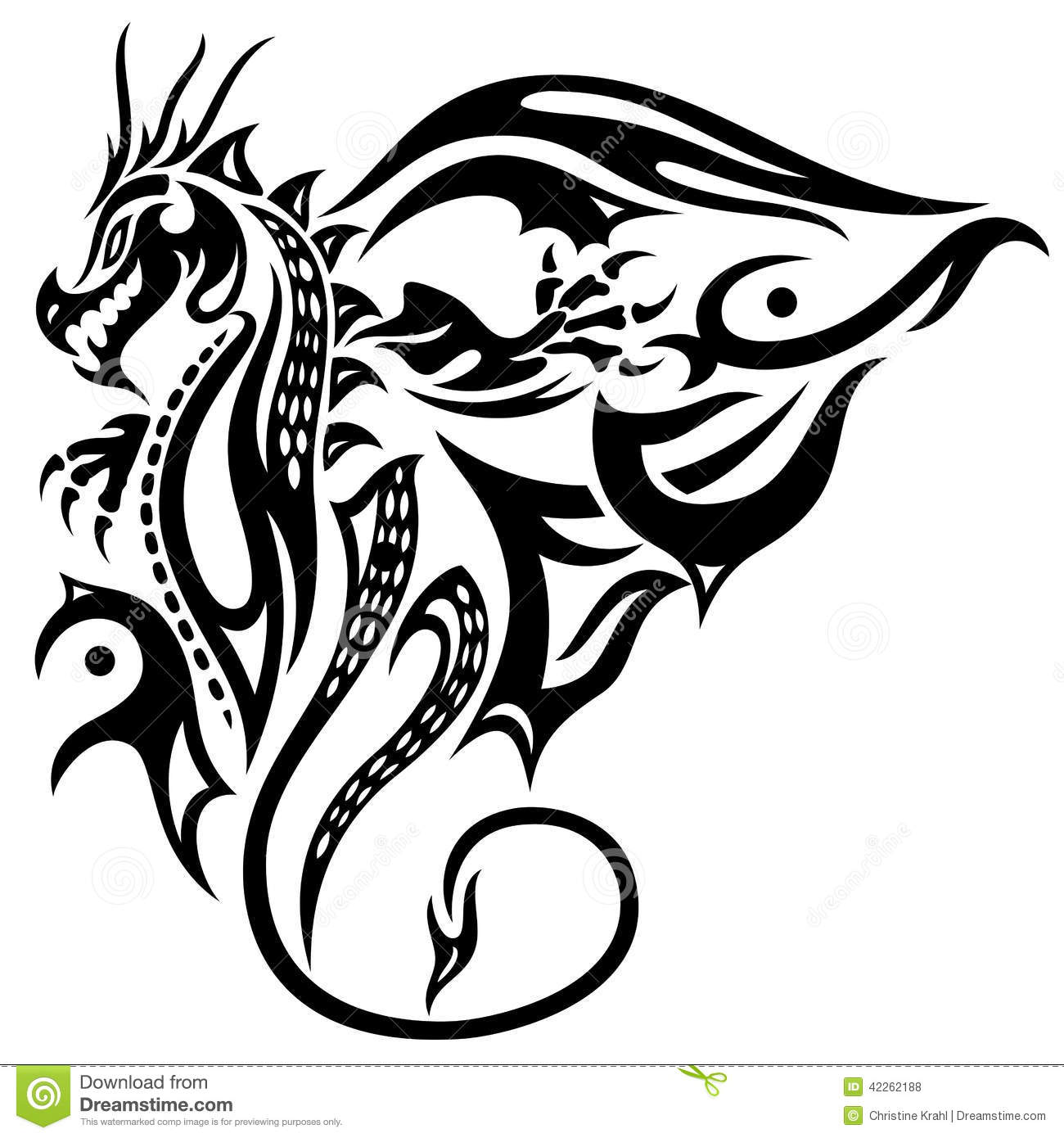 Dragon, wings