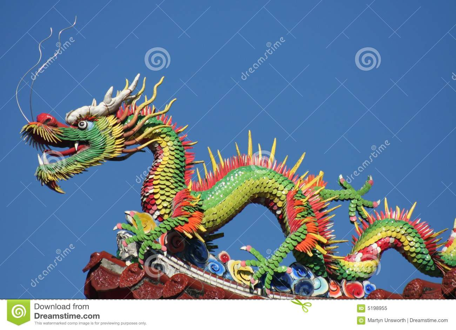 Dragones Chinos Imagen De Archivo Imagen De Chino Dinastía 5198955