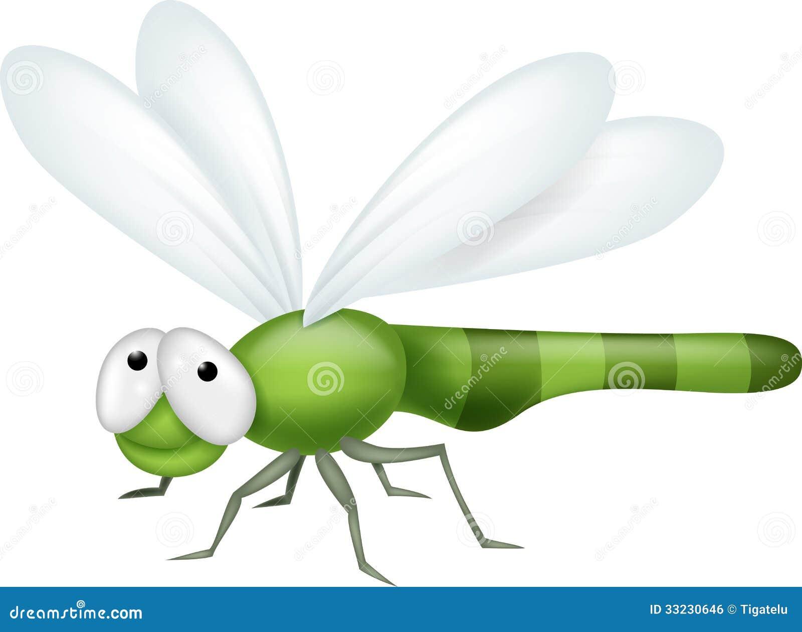 Dragonfly Cartoon Royalty Free Stock Image - Image: 33230646