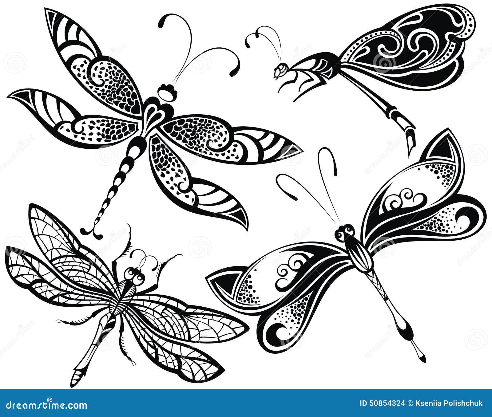 Dragonfly set stock vector illustration of image illustration dragonfly set stock vector illustration of image illustration 50854324 biocorpaavc