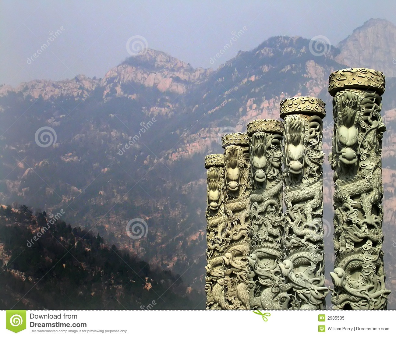 ... China. Taishan is one of the most famous mountains in China