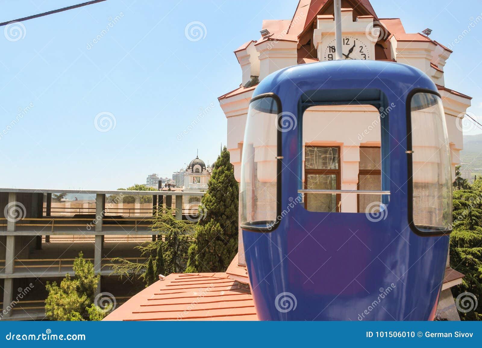 Drahtseilbahn Kabine