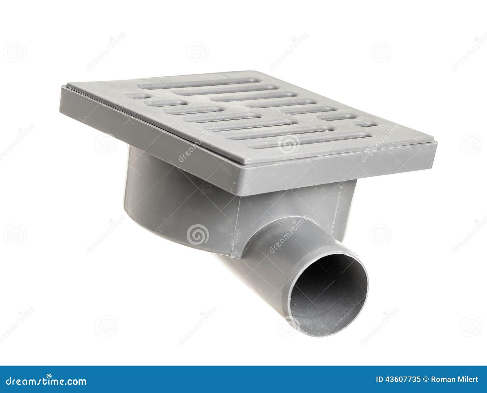 drain de plancher photo stock image 43607735. Black Bedroom Furniture Sets. Home Design Ideas