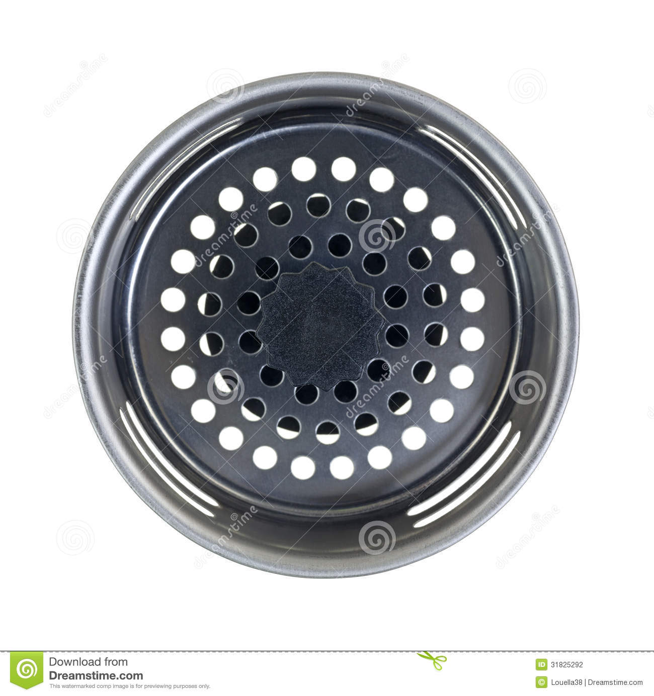 Drain Plug Top View Stock Photo Image Of Trap Bottom