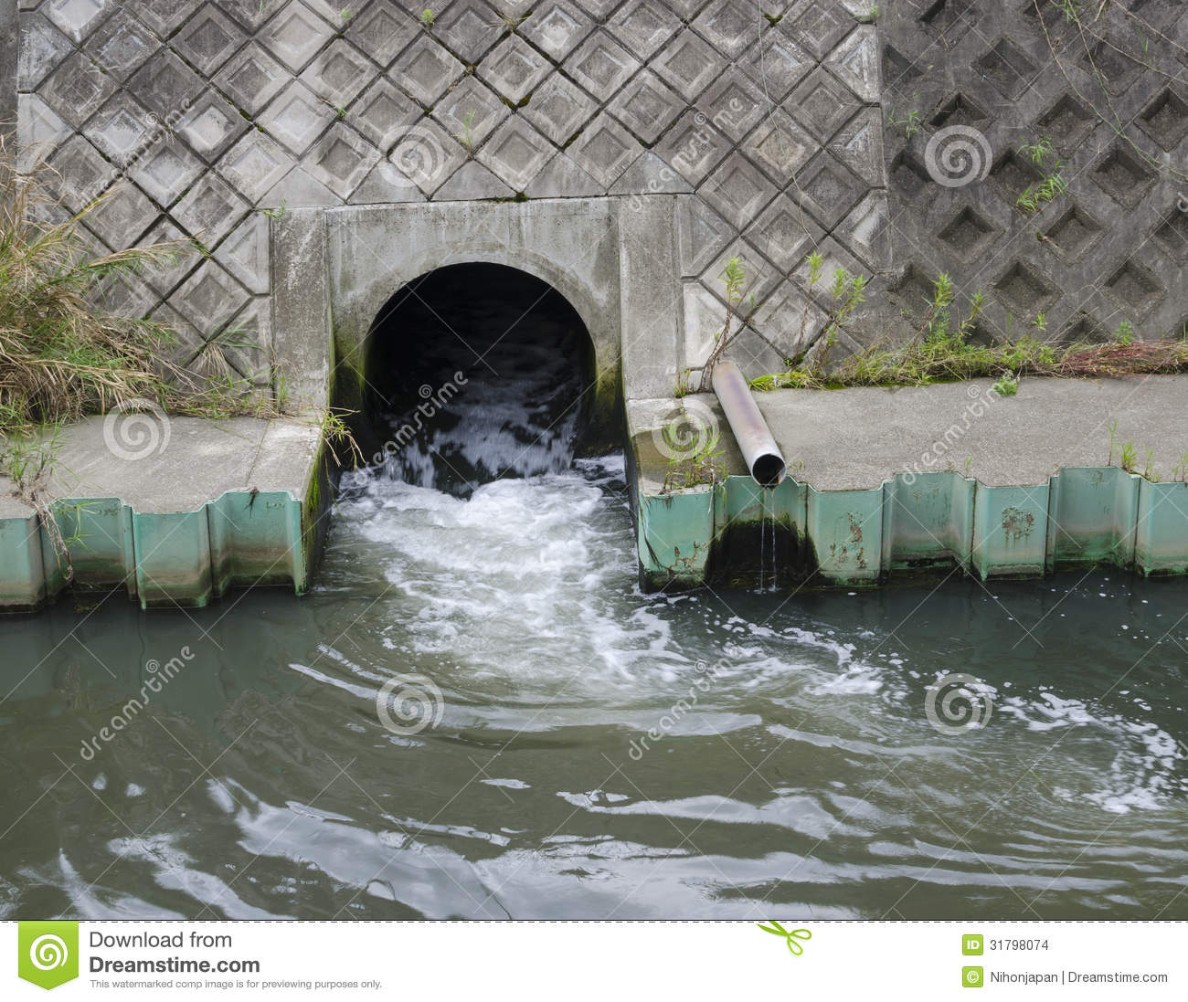 drainage sewer pipe stock photo  image of environmental