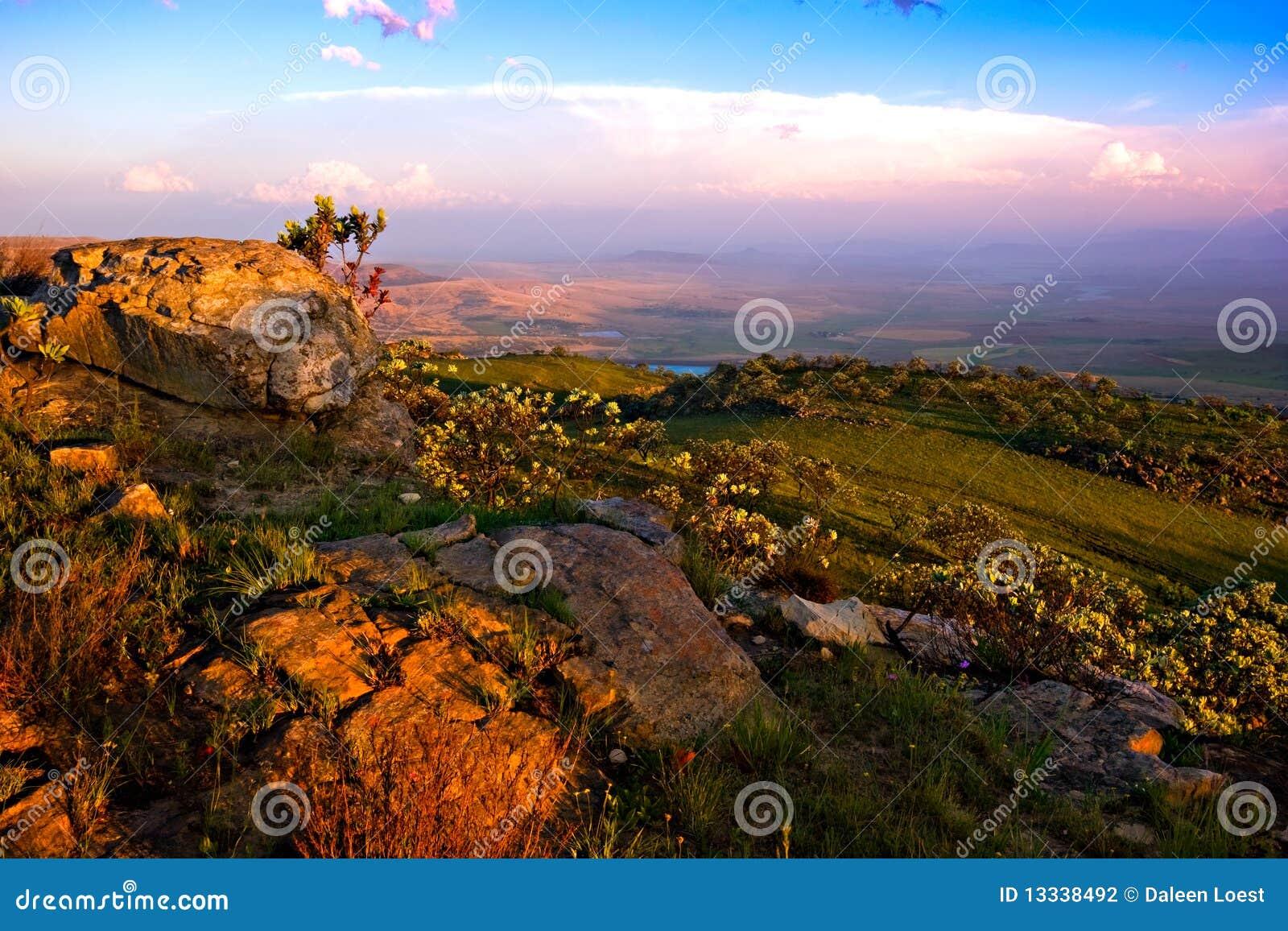 Drakensberg krajobraz
