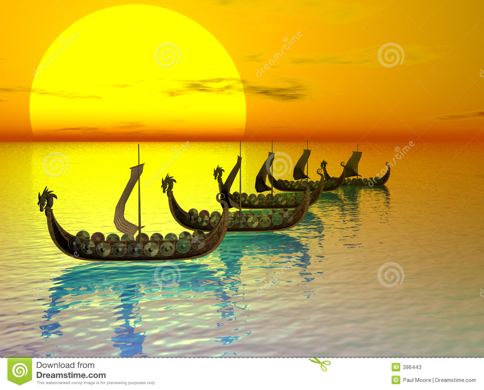 Drakker στόλος