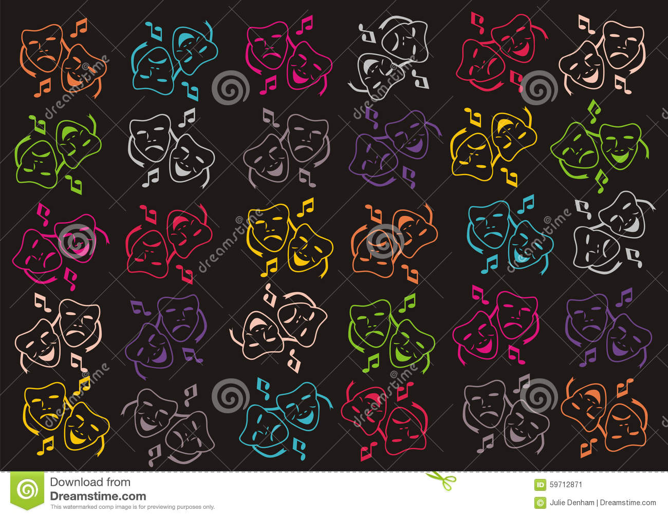 Popular Wallpaper Music Bright - drama-theatre-music-wallpaper-background-abstract-pattern-notes-theatrical-face-masks-eye-catching-bright-colours-59712871  Gallery_483479.jpg