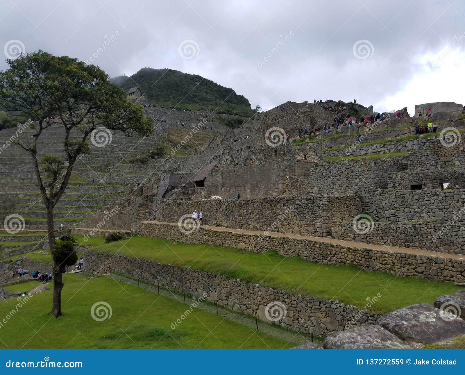 Dramatic Machu Picchu in the Clouds