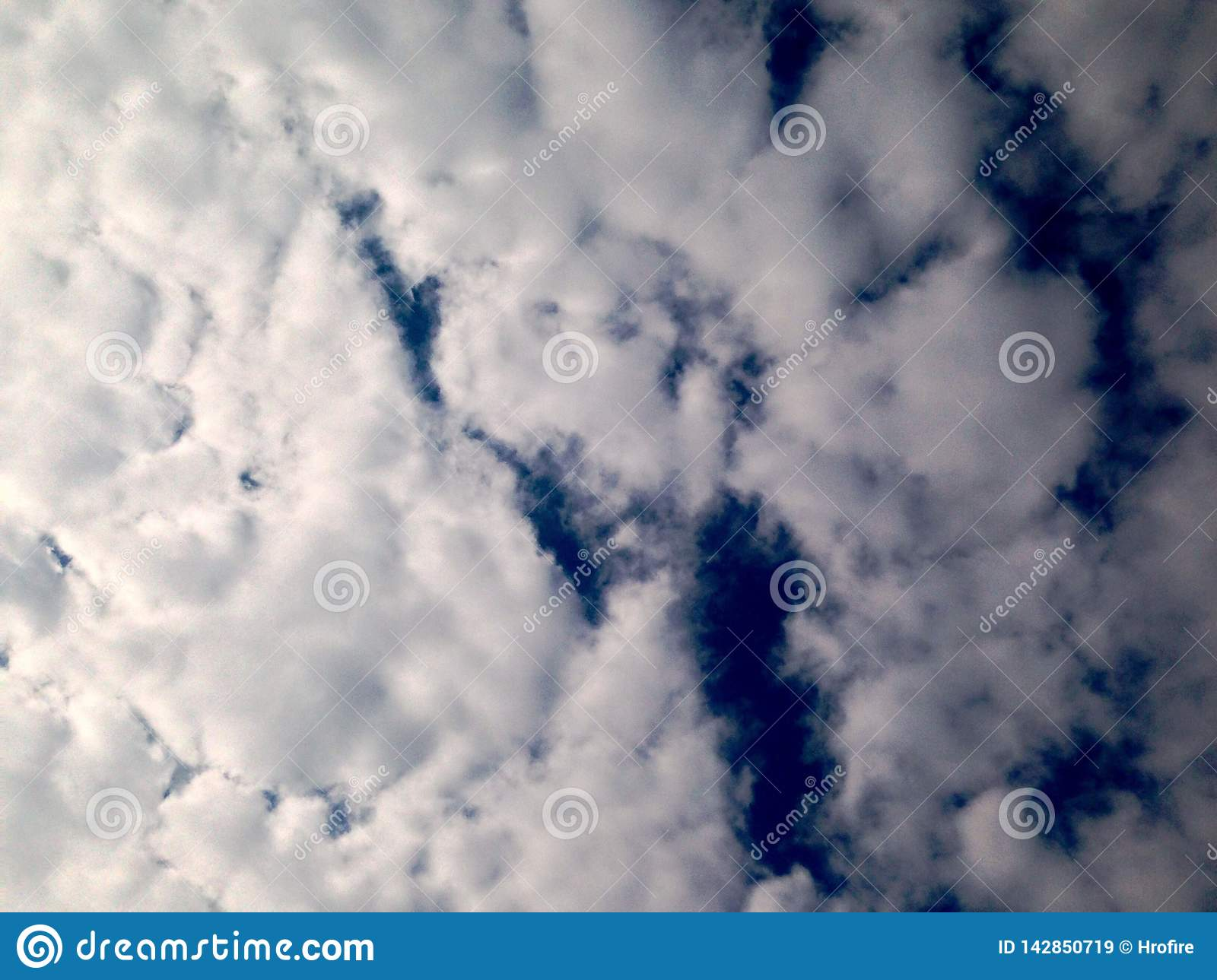 dramatic sky, clouds background, before rain. Wallpaper