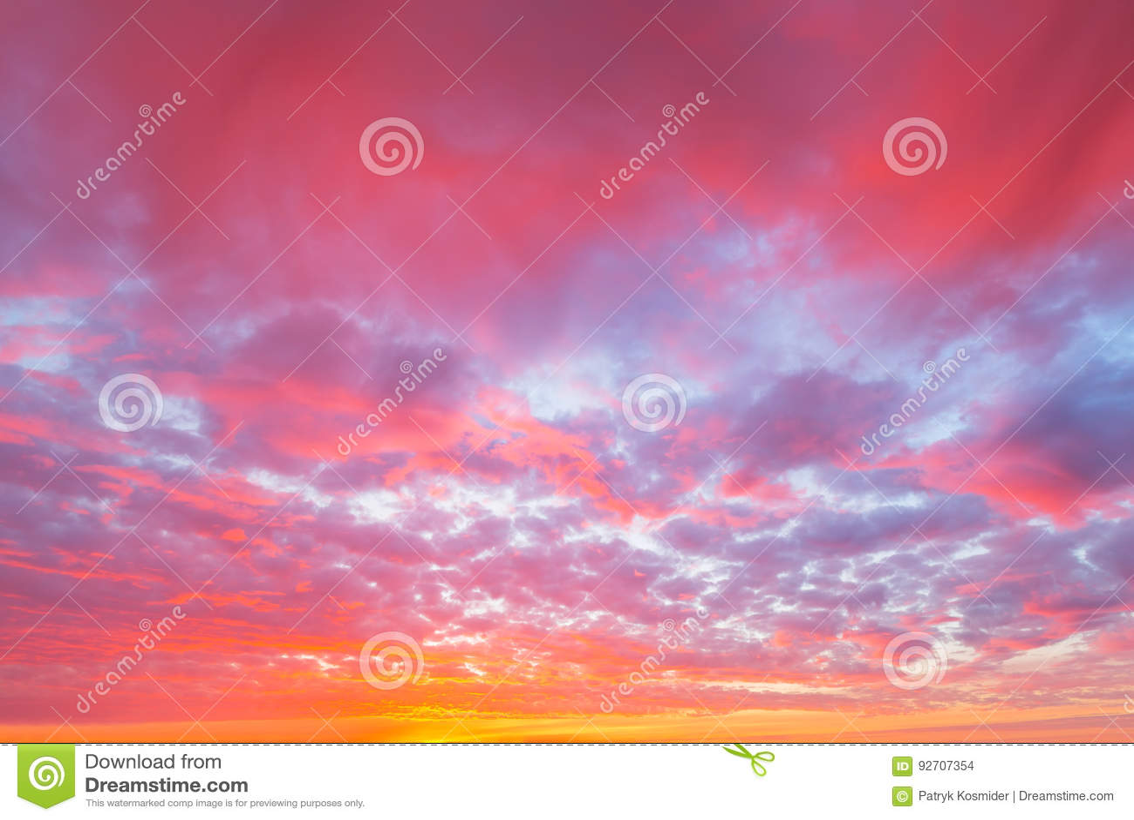 Dramatic sky pattern