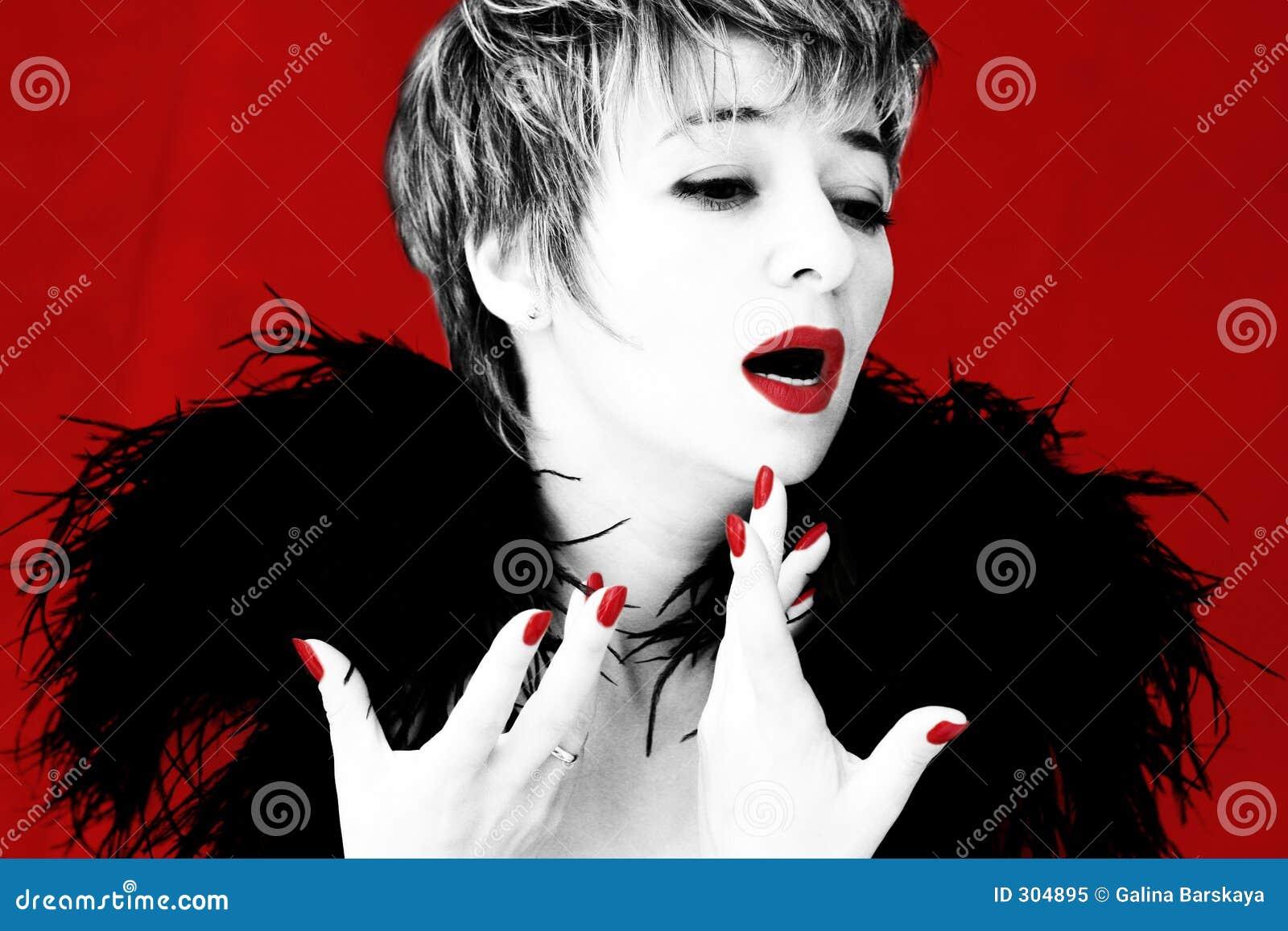 Dramatische zanger