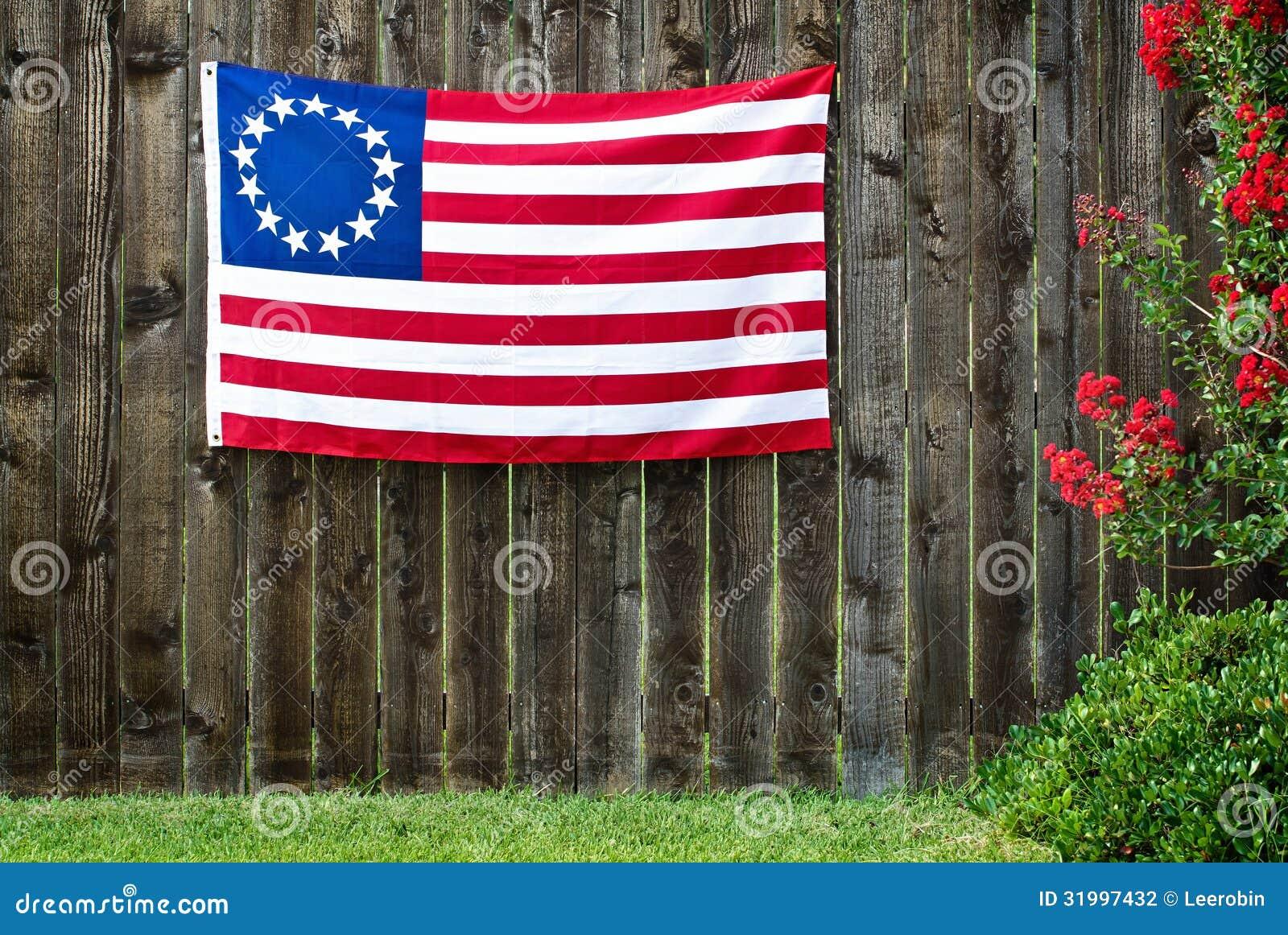 Drapeau américain de 13 étoiles, le drapeau de Betsy Ross