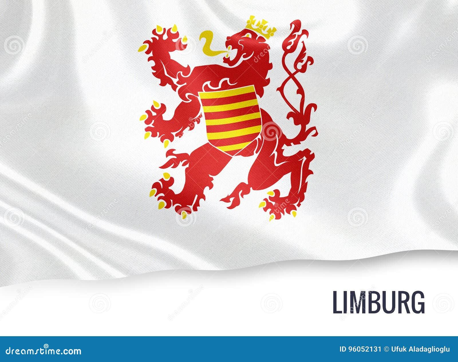 Drapeau belge de Limbourg d état