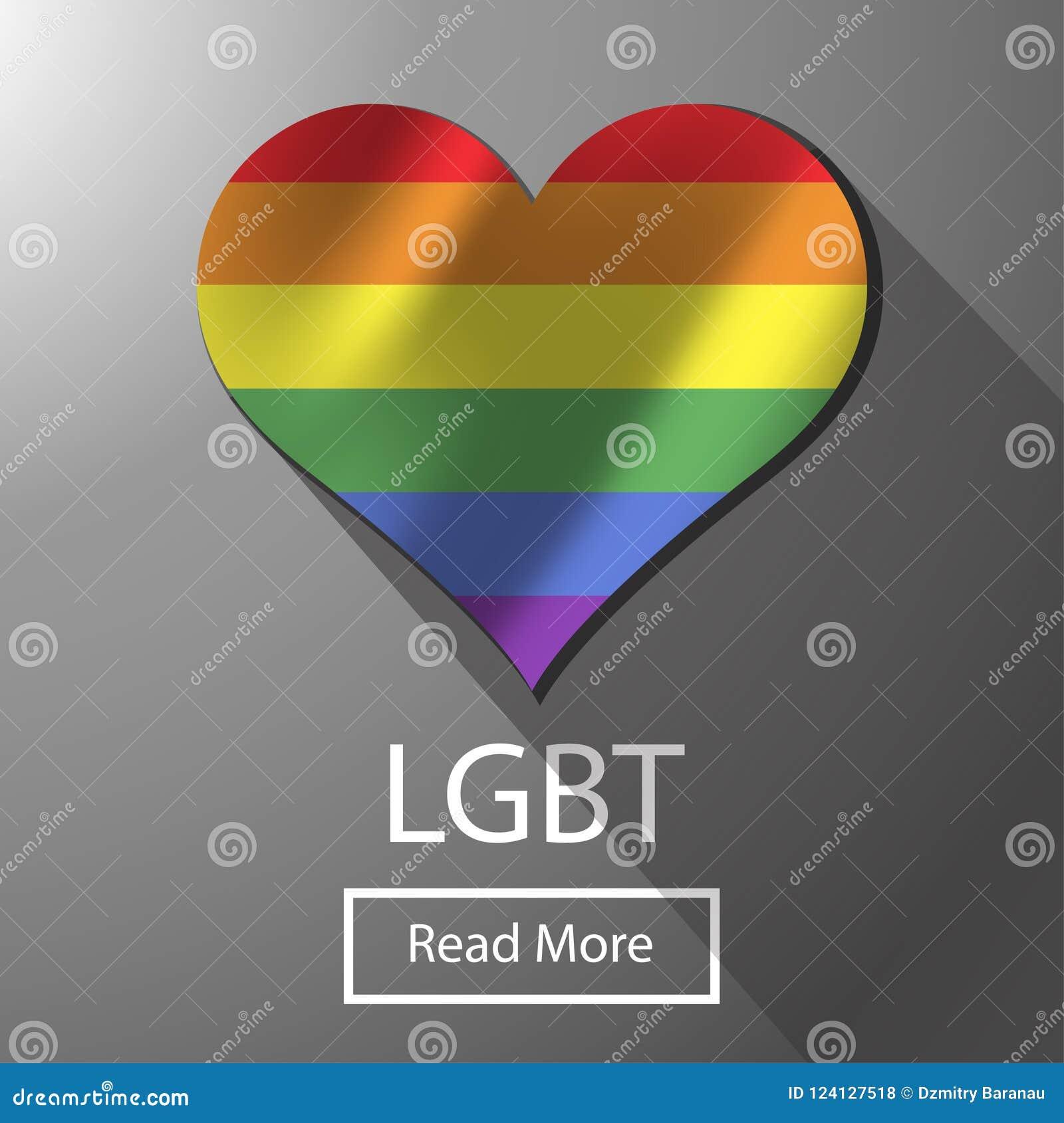 Drapeau coloré de liberté bisexuelle de LGBT Fierté gaie d arc-en-ciel d homosexualité La paix lumineuse de tolérance célèbrent l
