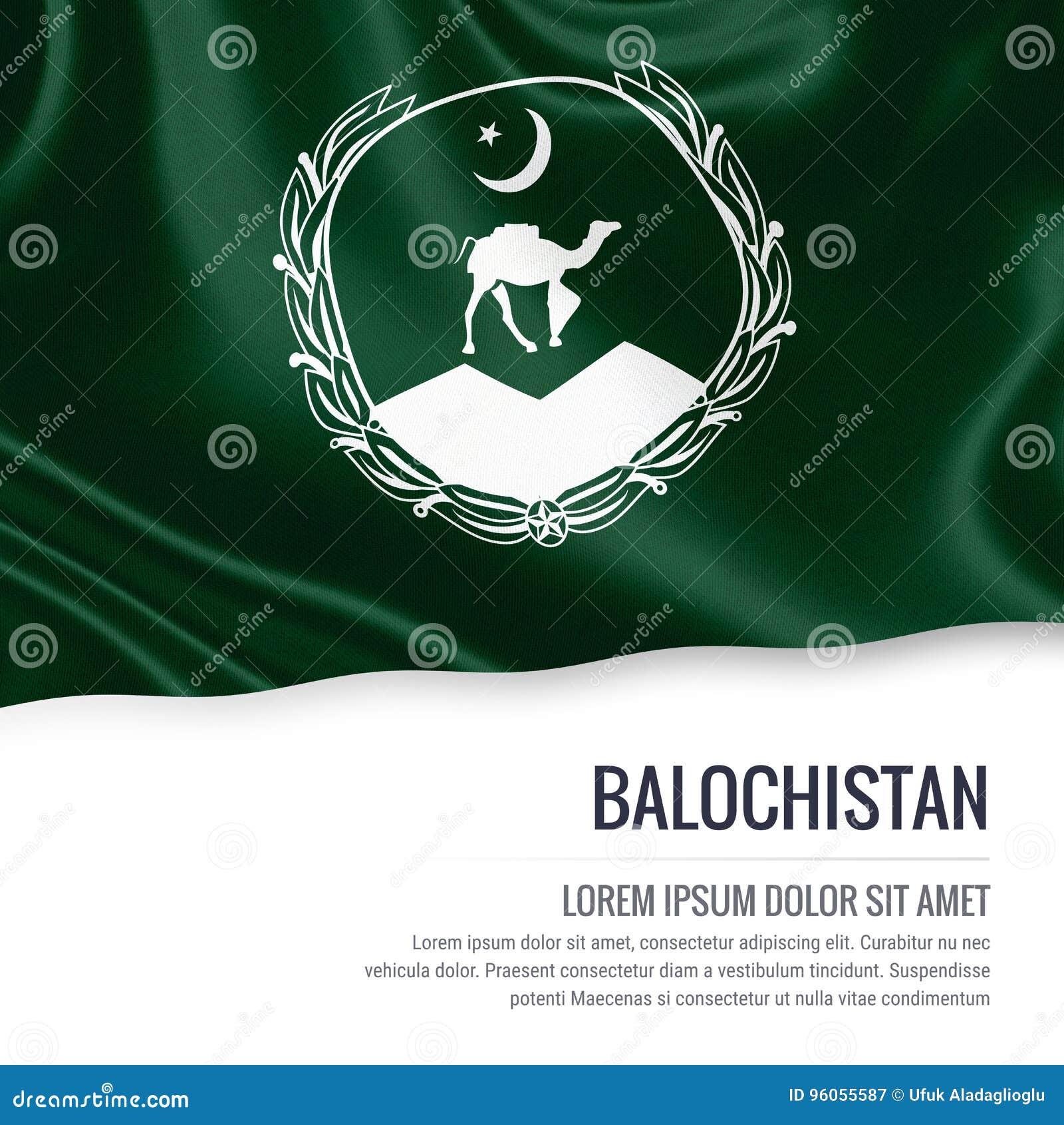 Drapeau de Balochistan d état du Pakistan