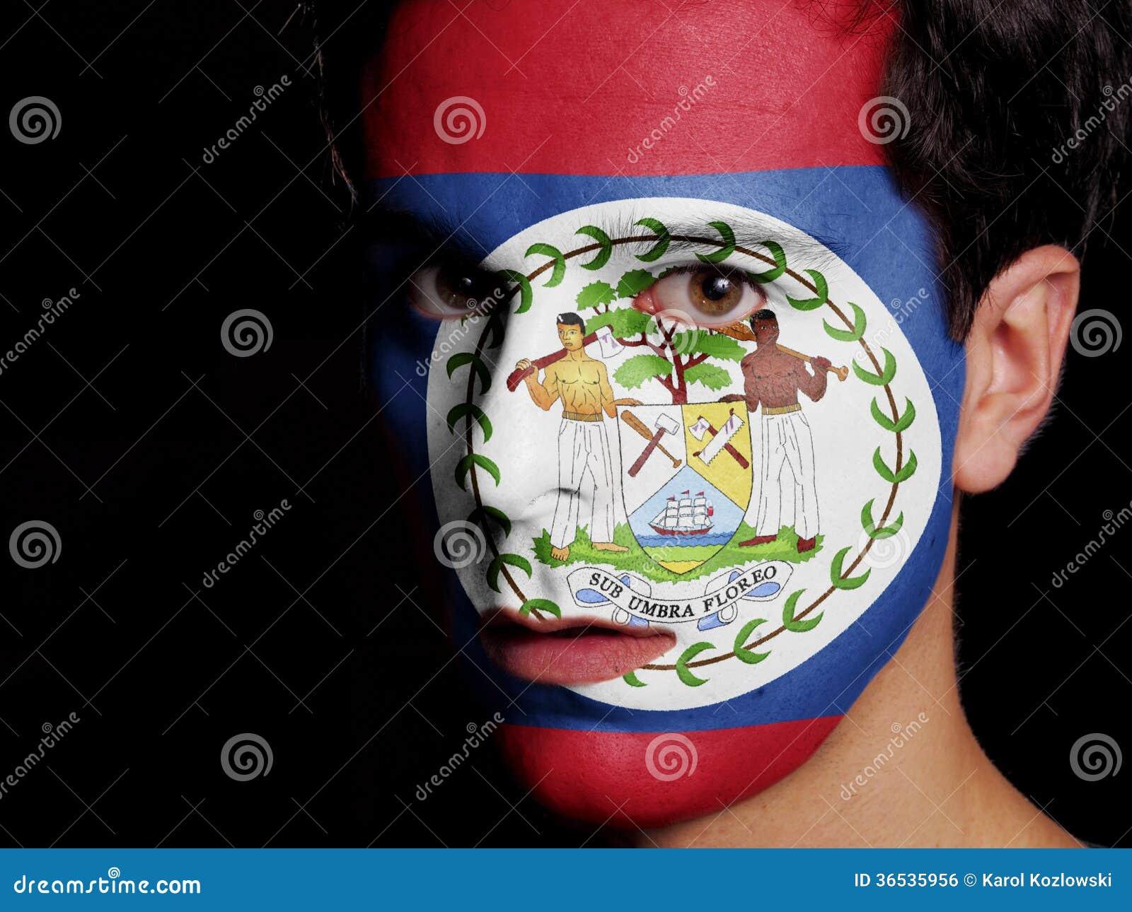 Drapeau de Belize
