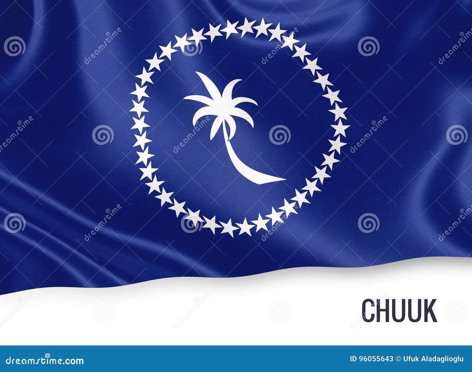Drapeau de Chuuk d état des Etats fédérés de Micronésie