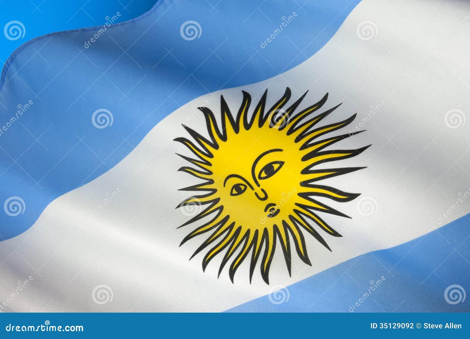 Drapeau de l 39 argentine l 39 am rique du sud photographie stock image 35129092 - Drapeau de l amerique ...