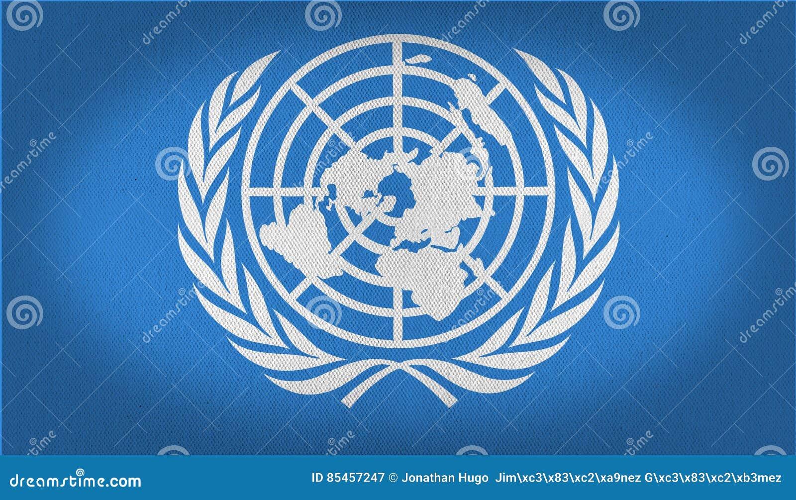 Drapeau de l ONU