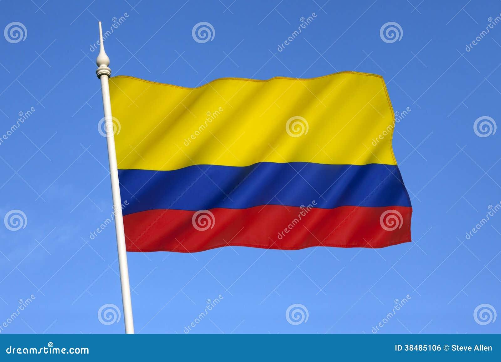 Drapeau de la colombie l 39 am rique du sud image libre de droits image 38485106 - Drapeau de l amerique ...