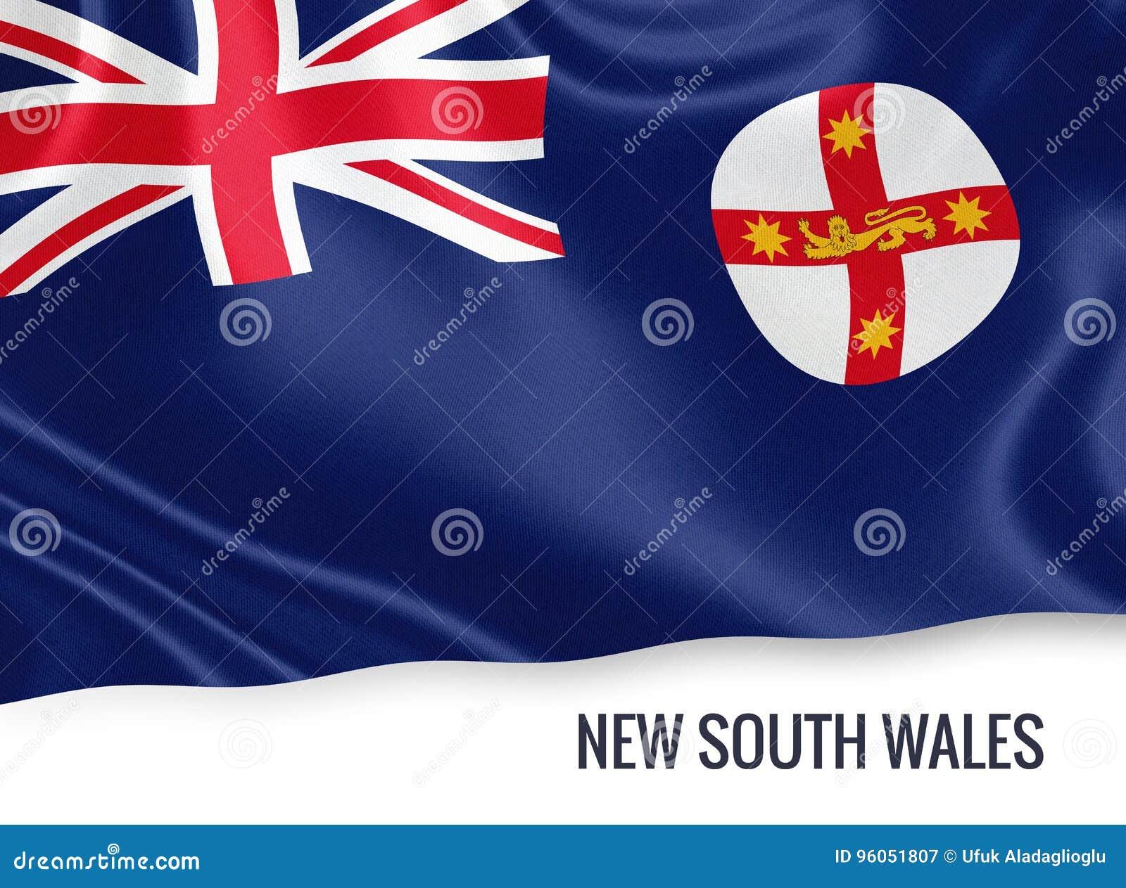 Drapeau de la Nouvelle-Galles du Sud d état australien