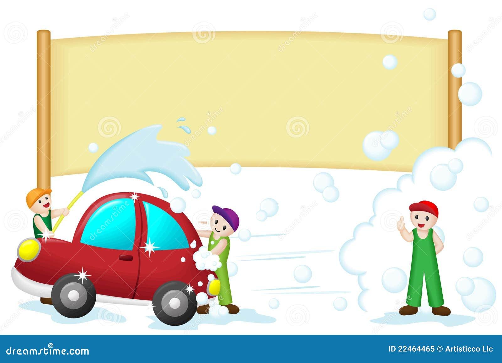 drapeau de lavage de voiture illustration de vecteur illustration du vecteur shampooing 22464465. Black Bedroom Furniture Sets. Home Design Ideas