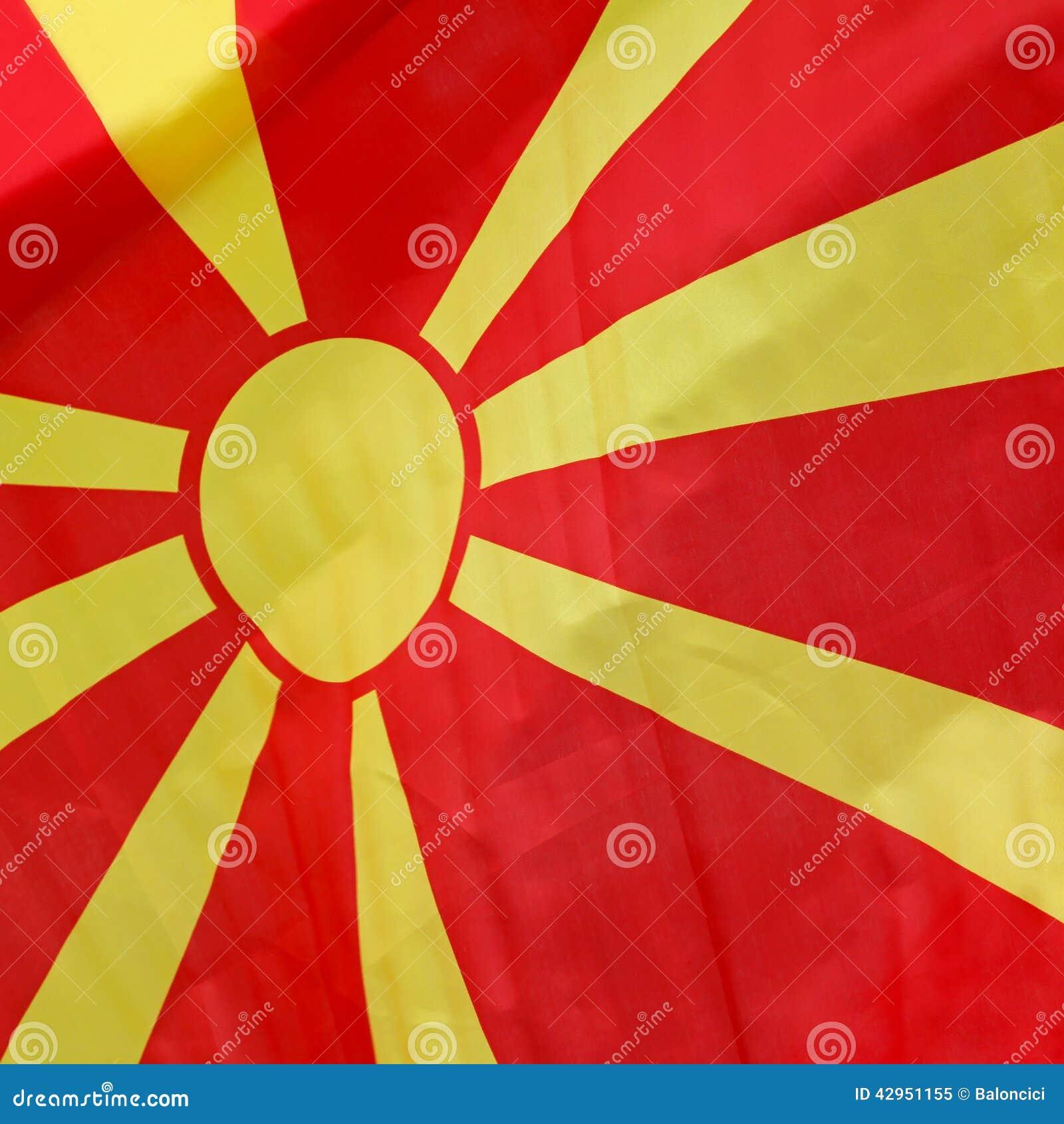 Drapeau de Macédoine