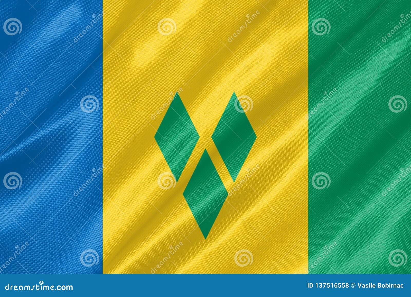 Drapeau de Saint-Vincent-et-les-Grenadines