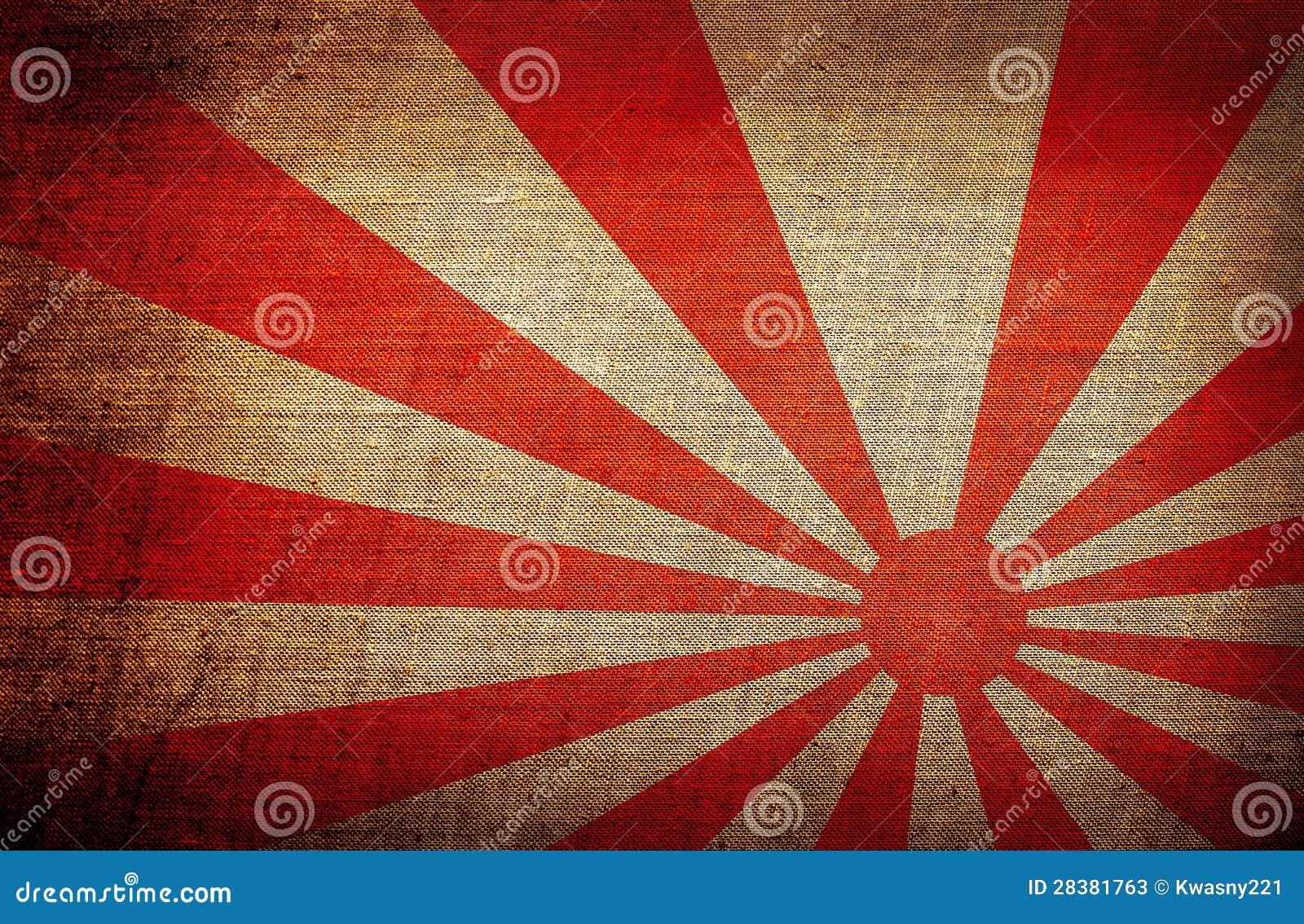 drapeau de soleil levant japon illustration stock illustration du rouge illustration 28381763. Black Bedroom Furniture Sets. Home Design Ideas