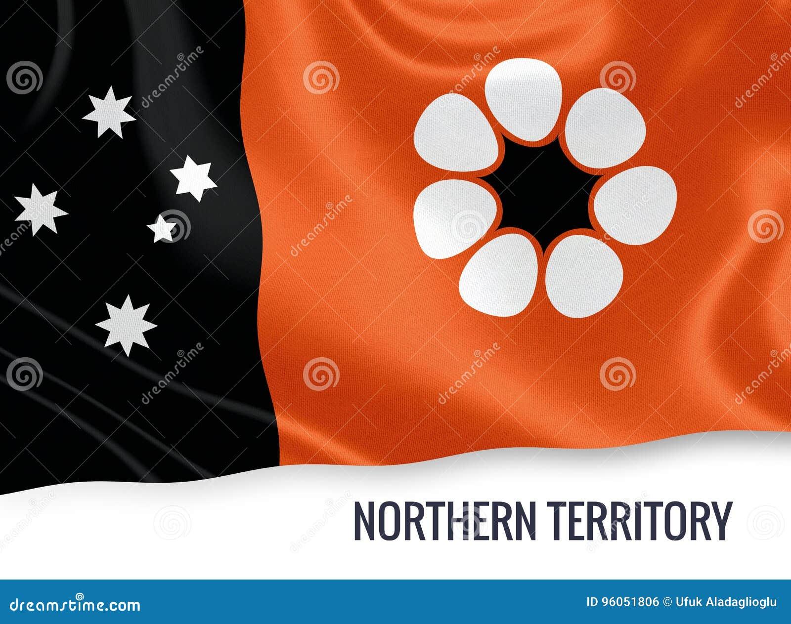 Drapeau de territoire du nord d état australien