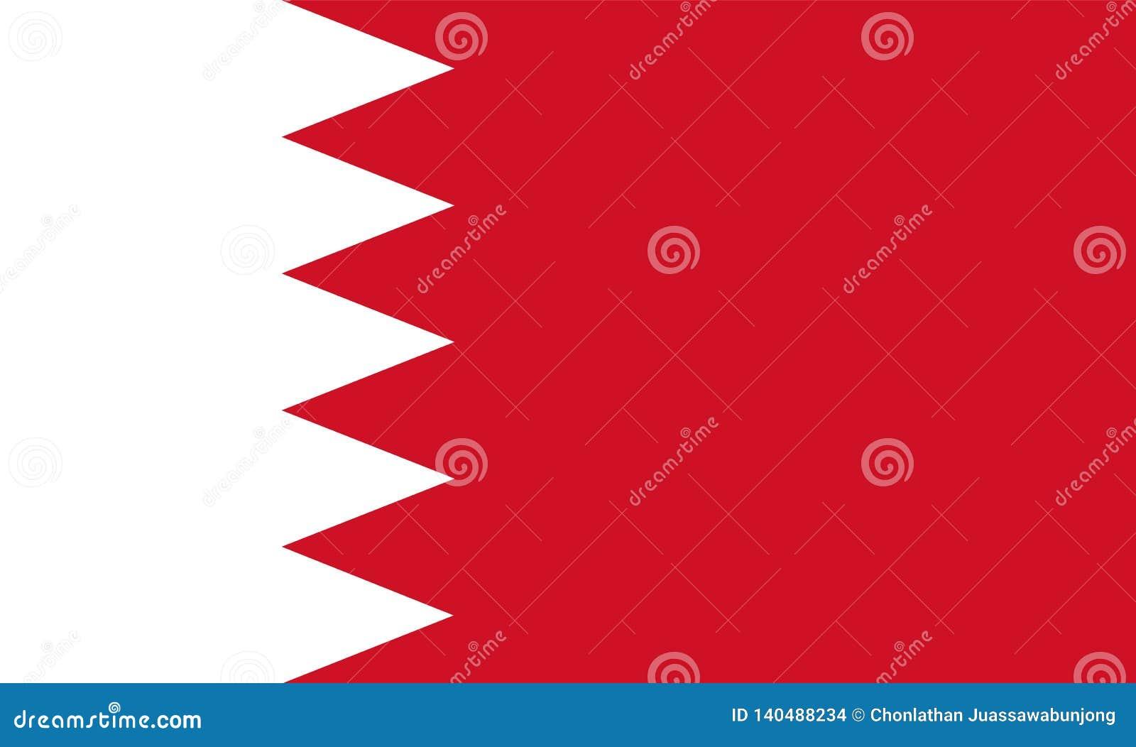 Drapeau du Bahrain