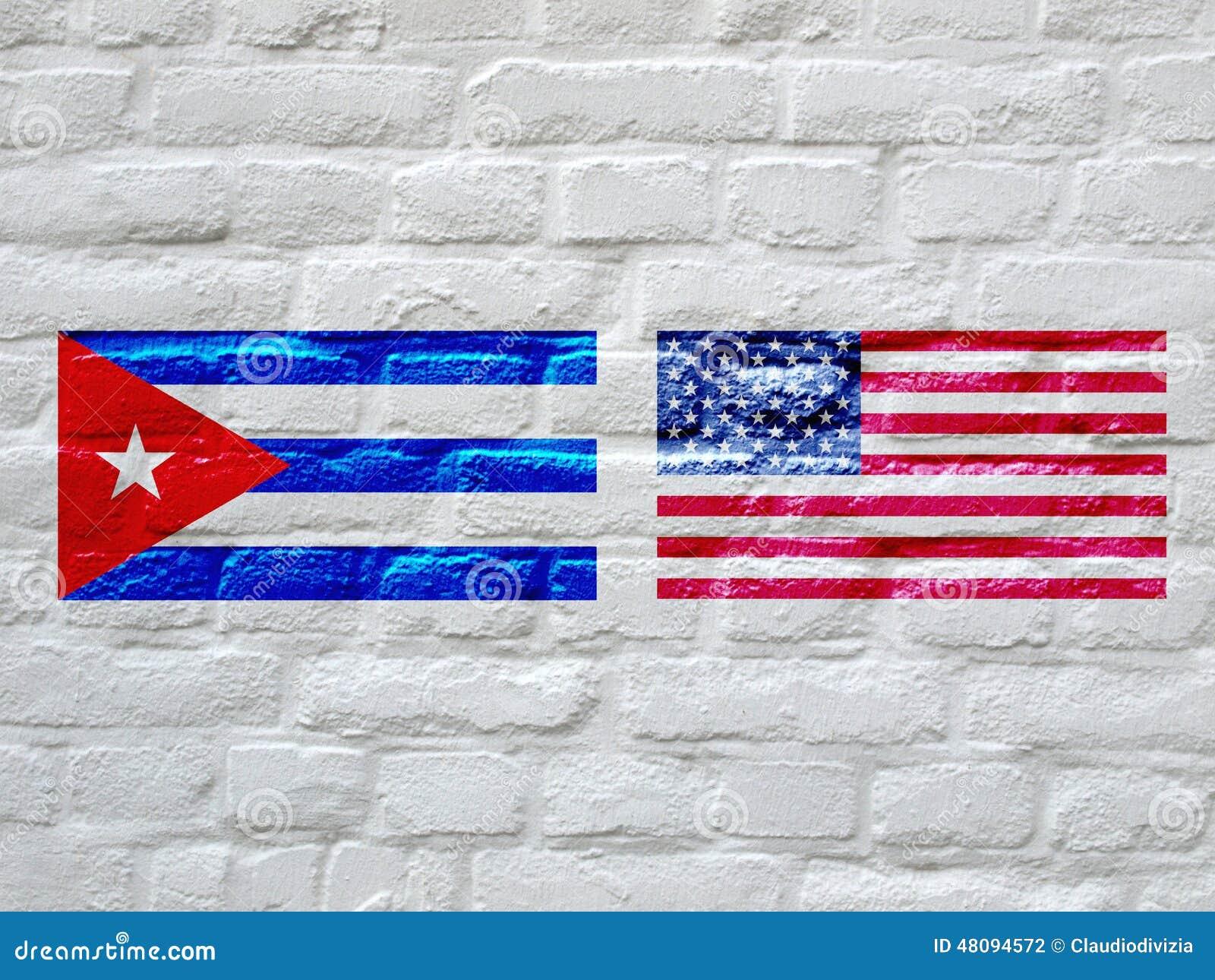 drapeau du cuba et des etats unis illustration stock illustration du blanc am rique 48094572. Black Bedroom Furniture Sets. Home Design Ideas